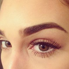 those eyebrows and lashes