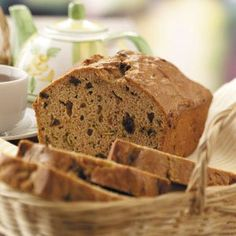 """Cinnamon Zucchini Bread Recipe -""""The only way Mom could get me to eat veggies was to bake this zucchini bread. When I grew up, I lightened her original recipe, so I can still eat it without guilt."""" —Kathie Meyer, Round Rock, Texas"""