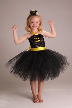 Hey, I found this really awesome Etsy listing at https://www.etsy.com/listing/158508013/batman-super-hero-tutu-dress