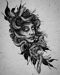 Sketch Style Tattoos, Sketch Tattoo Design, Tattoo Sketches, Tattoo Designs, Skull Rose Tattoos, Skull Hand Tattoo, Black Tattoos, Dream Tattoos, Badass Tattoos