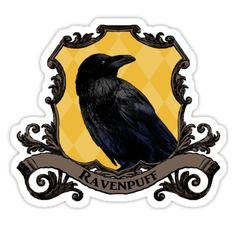 « Ravenpuff House Crest » par SedatedArtist