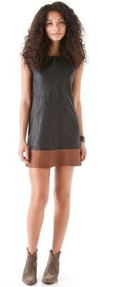 Joie - Alsoia B Leather Dress - $798.00 - Click on the image to shop now