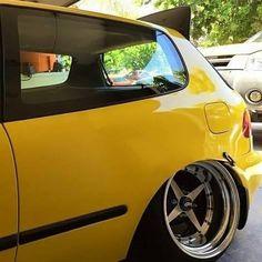 #Honda #Civic #Eg #Slammed #Stance #Tucked #Camber #Modified