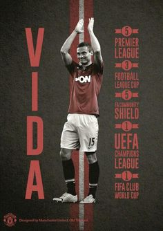 Club captain Nemanja Vidic started in his and final United game today at St. Mary's. Thanks for the memories, Vida. Manchester United Images, Manchester United Football, Manchester Fc, Premier League Teams, Premier League Champions, United Games, Club World Cup, Thing 1, United We Stand
