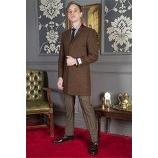 Scott Rust 3/4 Overcoat