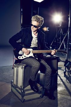 Peter Capaldi as The Doctor from Doctor Who