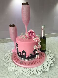 My second Sex and the City cake.