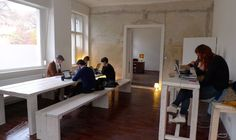 Cheap furnishing... Coworking space in Berlin