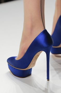 Temperley London Fall 2013 - Details    charlotte olympia shoes #heels  | @printedlove