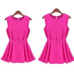 Solid Ball Gown Off the Shoulder Sleeveless Dress, $44