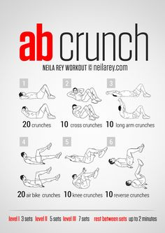 Crunch Workout for Men and Women