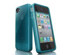 Iskin Solo Iphone 4 Color Azul   Funda de silicona con fácil acceso a puertos y botones. Protege tu dispositivo de golpes y caídas, en colores fantásticos   Visítanos; www.gsmchile.cl   @gsm_chile   www.facebook.com/gsmchile.cl