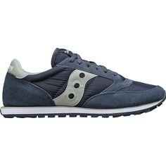 Saucony Men's Jazz Low Pro Shoe - 11.5 - Navy/Aqua Grey