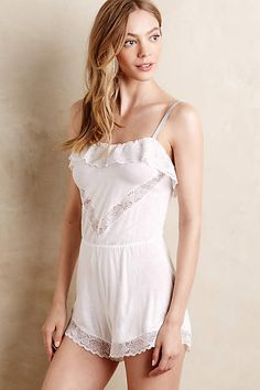 Eberjey Gemma Romper - anthropologie.com #anthrofave