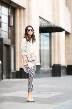 Tulle Tulle :: Striped jeans & Tulle sweater