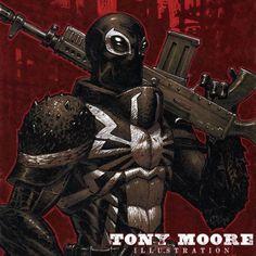 Agent Venom by Tony Moore
