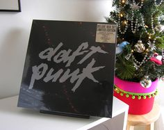 Look what Santa's robots brought us! #DaftPunk at #wildhoneyrecords #recordstore #knoxville #tennessee #vinylrecord