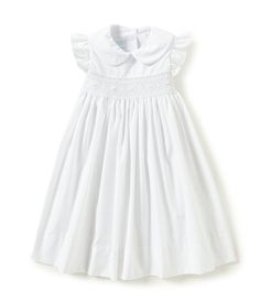 Edgehill Collection Little Girls 2T4T RuffleSleeve Dress #Dillards