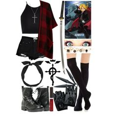 anime outfit  | anime outfits polyvore