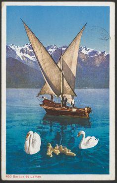 Barque du Léman. PK_006200