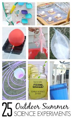 25 Awesome Outdoor Summer Science Experiments
