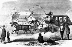 Butterfield Overland Stage Company - Delivering the Overland Mail ...