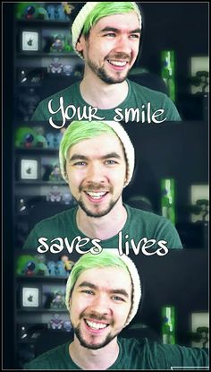 Jack has a top 10 smile for sure.