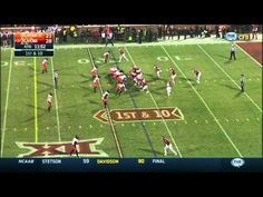Oklahoma State at Oklahoma | 2014-15 Big 12 Football Highlights