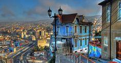 Quanto custa uma passagem aérea para Valparaíso #chile #viagem