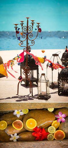 A bohemian beach destination wedding inspiration shoot in Turks Caicosby Brilliant Studios 0064 Beach Bohemia.