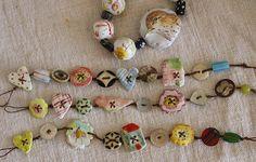 button bracelets | Flickr - Photo Sharing!