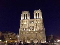 La nuit à Notre Dame, Paris
