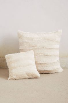 Faux Fur Pillow - anthropologie.com #anthrofave