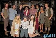 """Teen Beach Movie"" Cast Watched ""Newsies"" July 16, 2013"