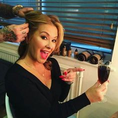 "INSTAGRAM Anastacia: ""feeling Proper posh and Ohhh so fancy with my Diet Coke…"