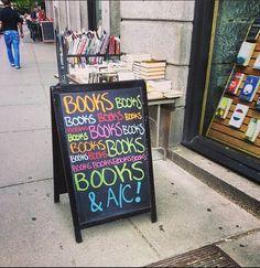Books books books more books and A/C
