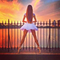 Ballet in Central Park New York a Ballerina dream