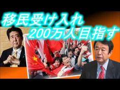 【青山繁晴】安倍総理は移民受入れ!中国は戦略的に人を送り込む!何を考えている?//右も左もヤバイご時世。