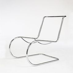 Ludwig Mies van der Rohe | MR 30/5 frame | c. 1930 | Chrome and nickel-plated | Sold with original photograph of this chair in Howard Dearstyne's Berlin apartment in 1932.