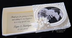 Wedding Favors all Stampin' Up! materials and tools; Jill Franchett (she made 200 of them!)