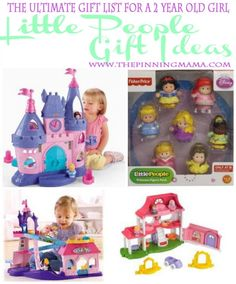 Little People Gift Ideas Are Perfect For A 2 Year Old Christmas