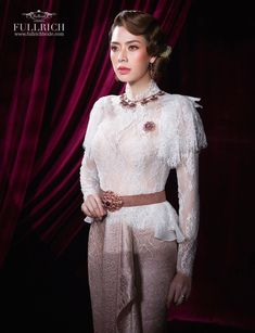 Traditional Thai Clothing, Traditional Dresses, Thai Wedding Dress, Wedding Dresses, Thai Fashion, Thai Dress, Indian Bridal Wear, Silk, Formal