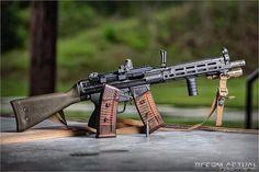 (ATF) atheistics, tactical, and foolishnessI post guns, cars, and shenanigans. Weapons Guns, Guns And Ammo, Battle Rifle, Custom Guns, Fire Powers, Firearms, Shotguns, Military Guns, Cool Guns