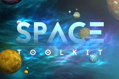 Space Toolkit by Kahuna Design on @creativemarket