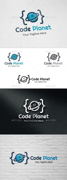 Code Planet - Logo Template