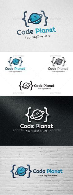 Code Planet - Logo Template