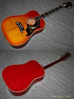 1965 Gibson Dove (#GIA0617) Cherry Sunburst, Excellent, Original Hard, $5,995.00 (via Gbase.com)
