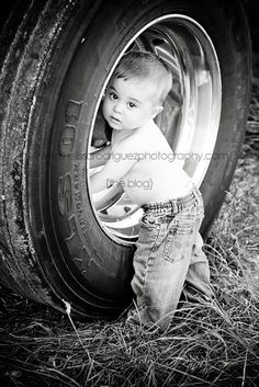 Like the use of a tire! <3