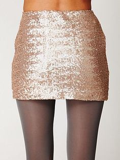 Fever Sequin Bodycon Skirt $148 )Free People)