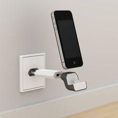 Le chargeur secteur OVNI pour iPhone est idéal pour conserver un design épuré dans votre pièce. Ne laissez plus trainer votre iPhone par terre !